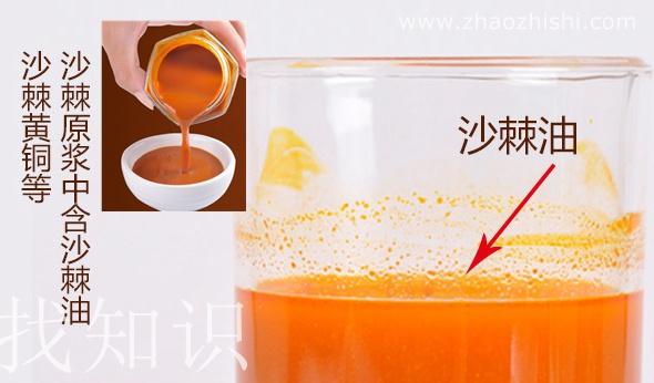 沙棘果汁和沙棘油的功效