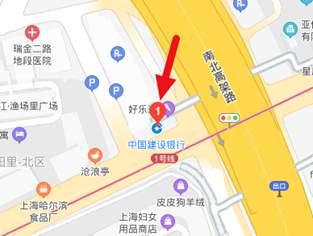 建设银行上海淮海中路支行网点电话